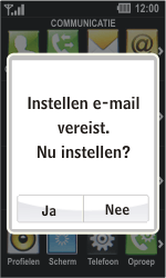 LG GD510 Pop - E-mail - Handmatig instellen - Stap 5