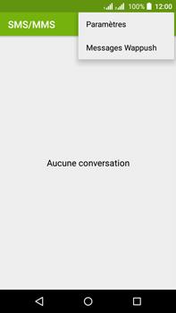Acer Liquid Z630 - SMS - configuration manuelle - Étape 5