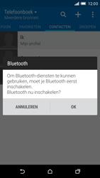 HTC One M9 (Model 0PJA100) - Contacten en data - Contacten overzetten via Bluetooth - Stap 10