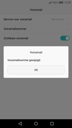 Huawei Y6 (2017) - Voicemail - Handmatig instellen - Stap 10