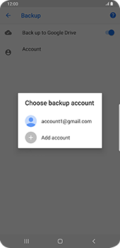 Samsung galaxy-s9-plus-android-pie - Data - Create a backup with your account - Step 9