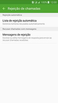 Samsung Galaxy J7 - Chamadas - Como bloquear chamadas de um número específico - Etapa 8