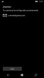 Microsoft Lumia 950 - E-mail - Configurar Yahoo! - Paso 12