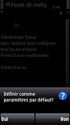 Nokia 5800 Xpress Music - MMS - configuration automatique - Étape 7