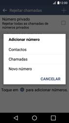 LG K4 - Chamadas - Como bloquear chamadas de um número -  8
