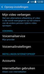 Samsung G357 Galaxy Ace 4 - Voicemail - handmatig instellen - Stap 6
