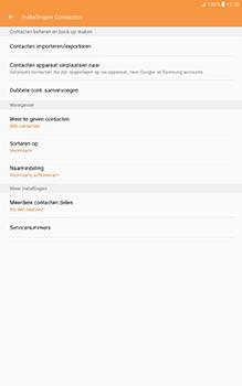 Samsung Galaxy Tab A 10.1 (SM-T585) - Contacten en data - Contacten kopiëren van toestel naar SIM - Stap 6