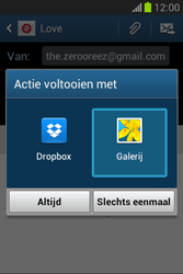 Samsung Galaxy Fame Lite (S6790) - E-mail - Bericht met attachment versturen - Stap 13