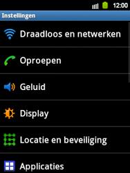 Samsung S5360 Galaxy Y - Internet - Uitzetten - Stap 4
