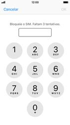 Apple iPhone SE - iOS 11 - Segurança - Como ativar o código PIN do cartão de telemóvel -  6