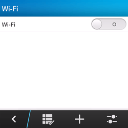 BlackBerry Q5 - Wifi - configuration manuelle - Étape 5
