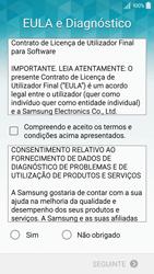 Samsung Galaxy A5 - Primeiros passos - Como ligar o telemóvel pela primeira vez -  6