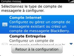 BlackBerry 9320 - E-mails - Ajouter ou modifier un compte e-mail - Étape 5