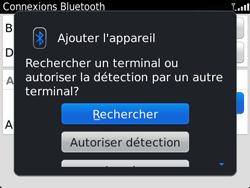 BlackBerry 9360 Curve - Bluetooth - Jumeler avec un appareil - Étape 8