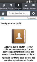 LG F70 - Contact, Appels, SMS/MMS - Ajouter un contact - Étape 4
