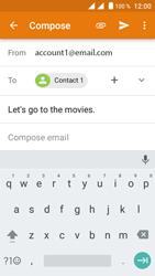 Crosscall Trekker M1 Core - E-mail - Sending emails - Step 9