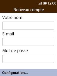 Nokia 8110 Banana - E-mail - Configuration manuelle - Étape 6