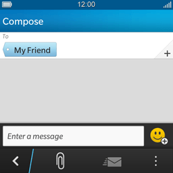 BlackBerry Q5 - MMS - Sending a picture message - Step 7
