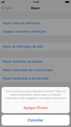 Apple iPhone 7 - iOS 12 - Repor definições - Como repor definições de fábrica do telemóvel -  8