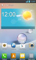 LG P710 Optimus L7 II - Internet - Automatisch instellen - Stap 1