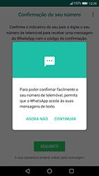 Huawei P10 Lite - Aplicações - Como configurar o WhatsApp -  11