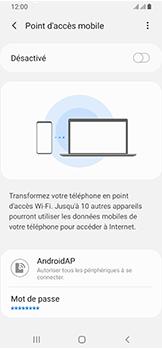 Samsung Galaxy A40 - Internet - comment configurer un point d'accès mobile - Étape 7