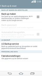 LG G3 4G (LG-D855) - Instellingen aanpassen - Fabrieksinstellingen terugzetten - Stap 6