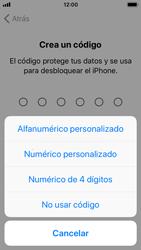 Apple iPhone SE iOS 11 - Primeros pasos - Activar el equipo - Paso 14