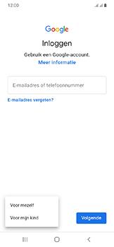 Samsung galaxy-a20e-dual-sim-sm-a202f - Applicaties - Account aanmaken - Stap 6