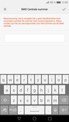 Huawei P9 Lite - SMS - SMS-centrale instellen - Stap 8