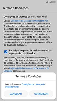 Huawei Mate 10 - Primeiros passos - Como ligar o telemóvel pela primeira vez -  8