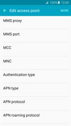 Samsung G903F Galaxy S5 Neo - Mms - Manual configuration - Step 10