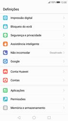 Huawei P10 - Segurança - Como ativar o código de bloqueio do ecrã -  3