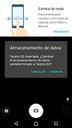 Sony Xperia XZ (F8331) - Funciones básicas - Uso de la camára - Paso 6