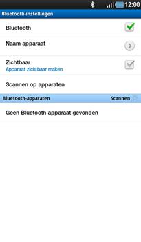 Samsung P1000 Galaxy Tab - Bluetooth - headset, carkit verbinding - Stap 6