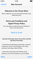 Apple iPhone 5s - iOS 8 - Applications - Create an account - Step 11