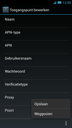 Acer Liquid S2 - Internet - Handmatig instellen - Stap 16