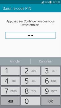 Samsung Galaxy Note 4 - Sécuriser votre mobile - Activer le code de verrouillage - Étape 8