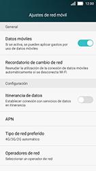 Huawei Y5 - Red - Seleccionar el tipo de red - Paso 5