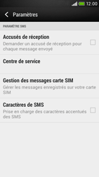 HTC Desire 601 - SMS - Configuration manuelle - Étape 10