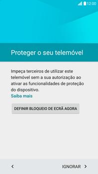 LG G4 - Primeiros passos - Como ligar o telemóvel pela primeira vez -  8
