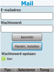 Nokia 206 Dual Sim - E-mail - Handmatig instellen - Stap 8