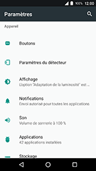 Crosscall Action X3 - Applications - Supprimer une application - Étape 4