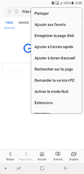 Samsung Galaxy A6 - Internet - navigation sur Internet - Étape 8