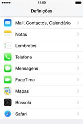 Apple iPhone 4S iOS 8 - Chamadas - Como bloquear chamadas de um número -  3