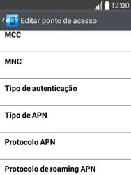 LG D100 L20 - Internet (APN) - Como configurar a internet do seu aparelho (APN Nextel) - Etapa 15