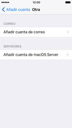 Apple iPhone SE iOS 10 - E-mail - Configurar correo electrónico - Paso 6