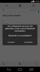 Motorola Moto G (1st Gen) (Kitkat) - Contactgegevens overzetten - delen via Bluetooth - Stap 8