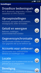 Sony Ericsson Xperia X10 - Voicemail - handmatig instellen - Stap 4