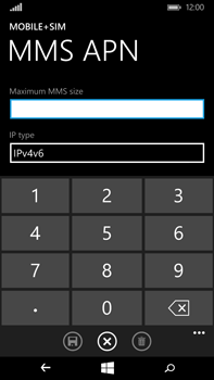 Microsoft Lumia 640 XL - Mms - Manual configuration - Step 11
